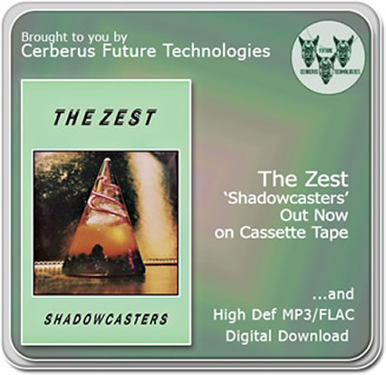The Zest - Shadowcasters out now on cassette