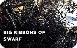 Big ribbons of swarf