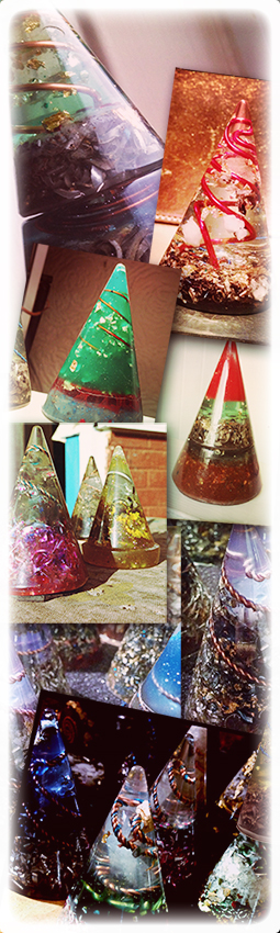 Sy Evans, Orgonite, Anturio, OMM, manchester orgonite, Lil' Picture Place, Orgone, crystal Alchemy, OMM Orgonite Power Cone Lil' Picture Place Manchester
